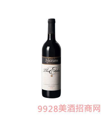 澳大利亚庄园赤霞珠美乐干红葡萄酒