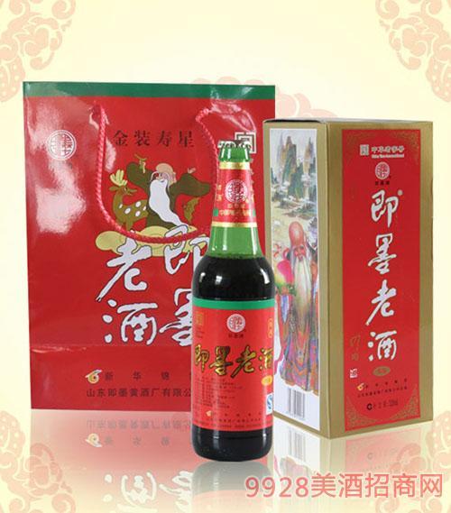 即墨老酒寿星11.5度520mlx6