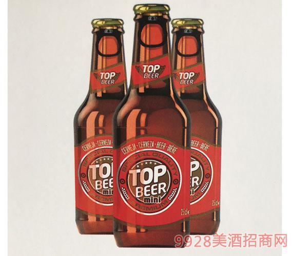 拓浦顶峰特醇啤酒5度250mlx24