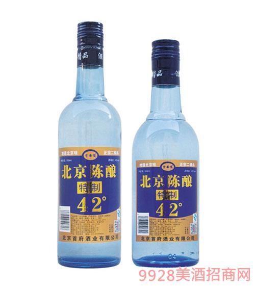京华楼北京陈酿酒42度