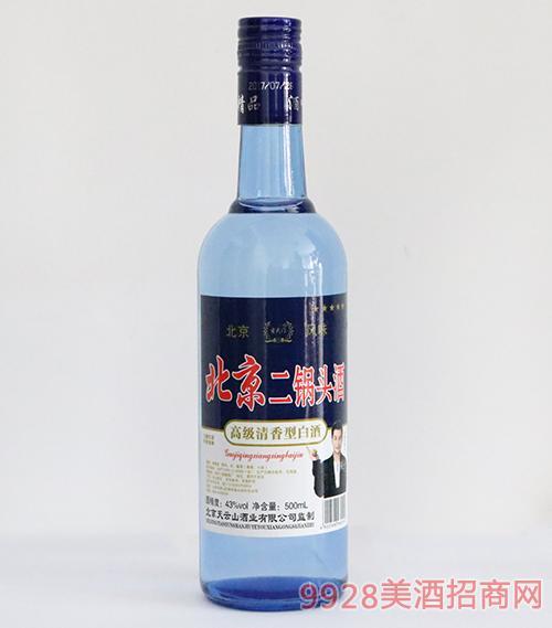 玄武�T北京二��^酒清香型43度500ml