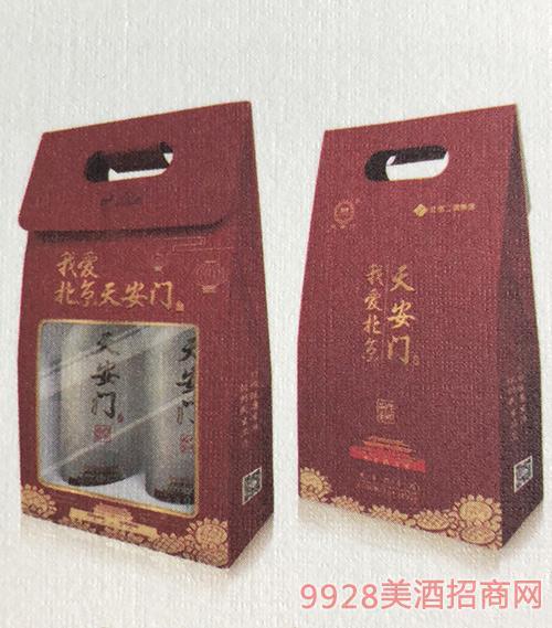 天安门酒品鉴礼盒装43度500mlx2
