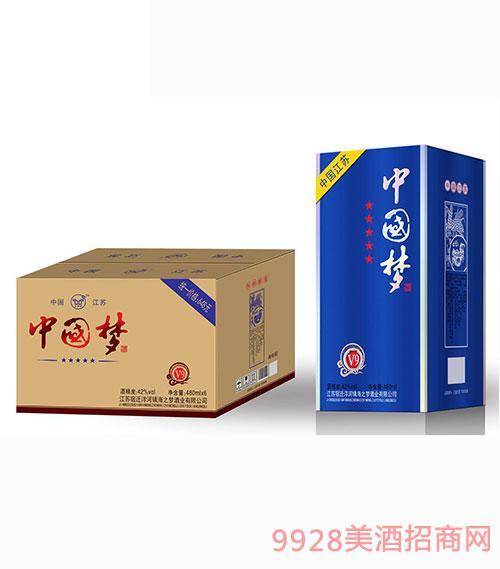 中国梦酒V9 42度480mlx6
