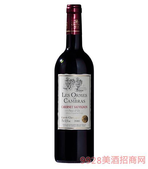 卡柏莱经典赤霞珠干红葡萄酒12.5度750ml