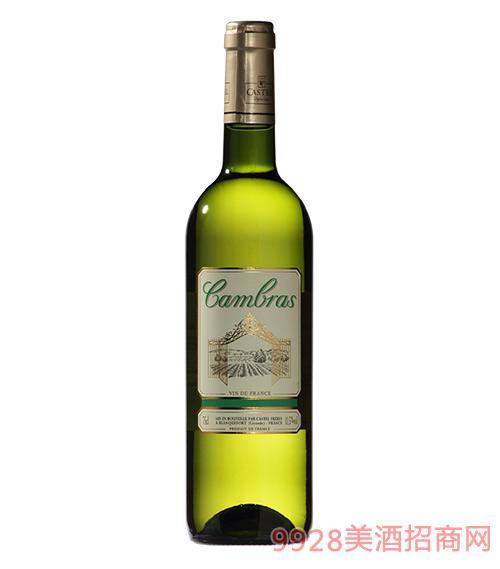 卡柏莱精制干白葡萄酒11.5度750ml