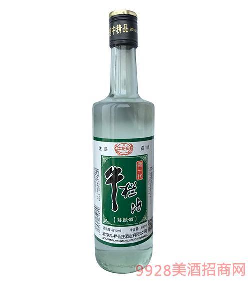 牛栏沟陈酿酒42度500ml