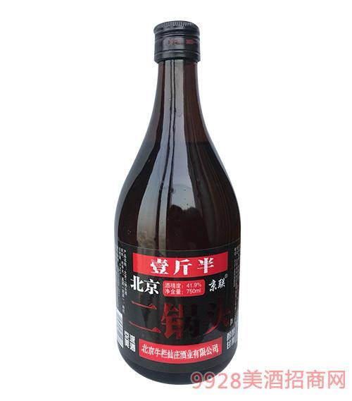 北京二锅头酒41.9度750ml