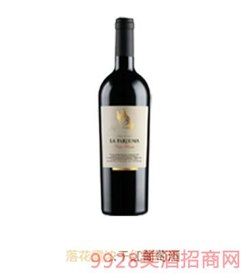 落花露浓干红葡萄酒