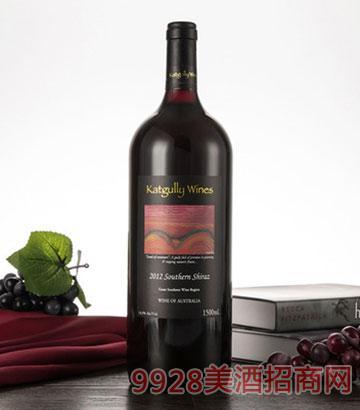 2012澳嘉利西拉子红葡萄酒1.5L澳大利亚原瓶干红