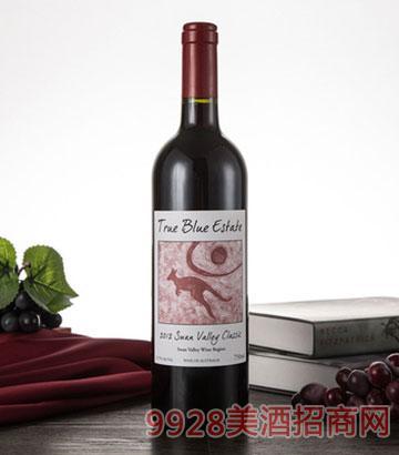 澳大利亚珍澳天鹅谷干红葡萄酒13.7度750ML原装