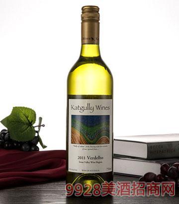 2011澳嘉利华帝露干白佐餐酒澳大利亚原瓶白葡萄酒