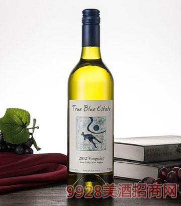 2012澳嘉利珍澳维欧尼耶白葡萄酒11.5度干白原瓶