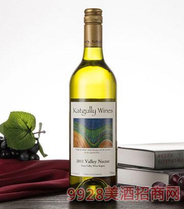 澳嘉利白葡萄酒半甜谷花蜜佐餐酒11.5度澳大利亚原瓶