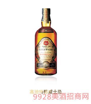 高地特醇威士忌酒