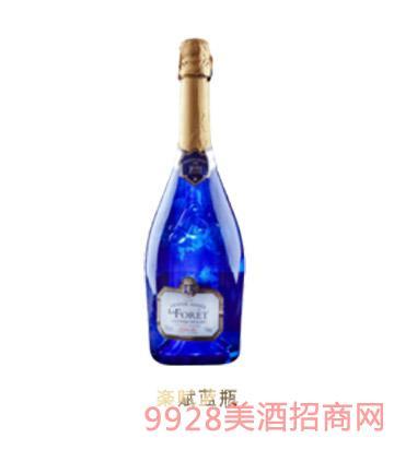 楽赋蓝瓶起泡酒
