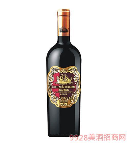 龙船上将·珍酿干红葡萄酒2015年