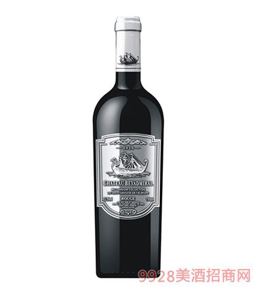 龙船上将·珍藏干红葡萄酒2015年