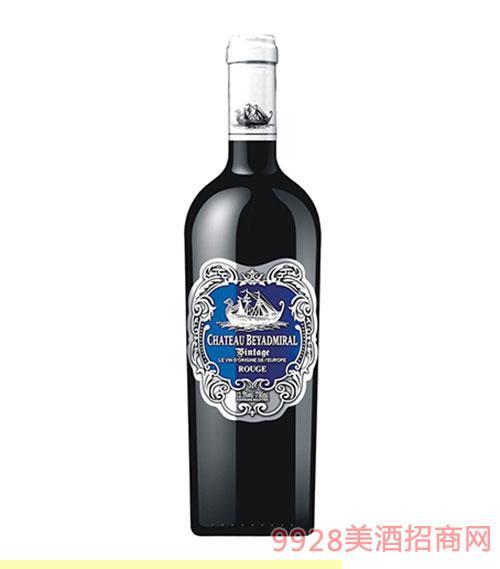 龙船上将·佳酿干红葡萄酒2015年