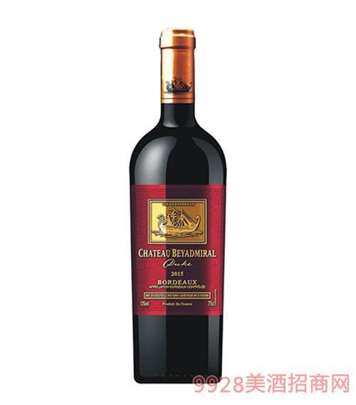 龙船上将·公爵干红葡萄酒2015年