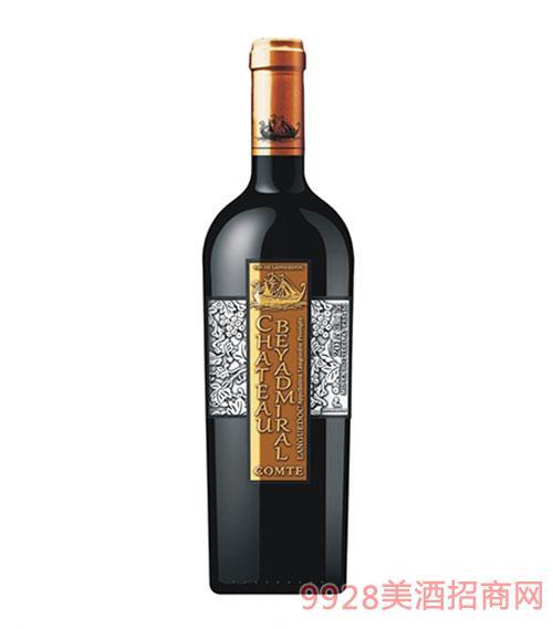 龙船上将·伯爵干红葡萄酒2015年