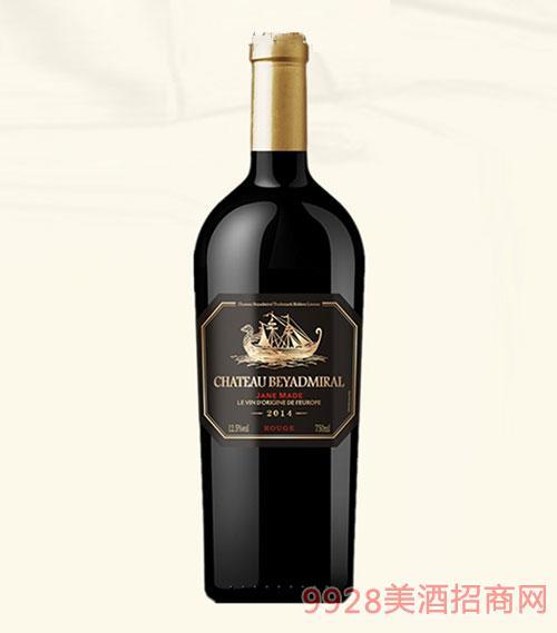 龙船上将·珍酿干红葡萄酒2014年超重瓶