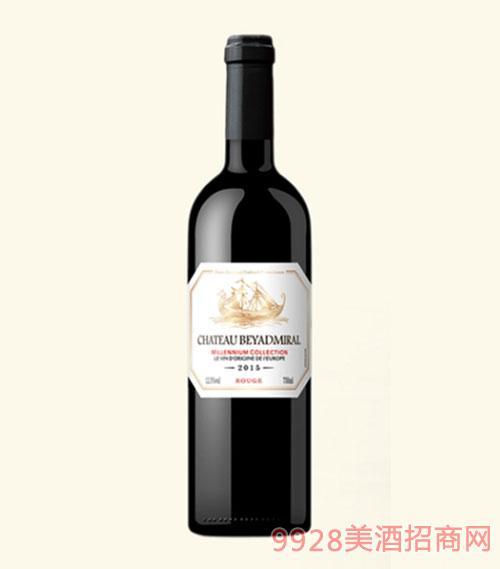 龙船上将·珍藏干红葡萄酒2015年普通瓶