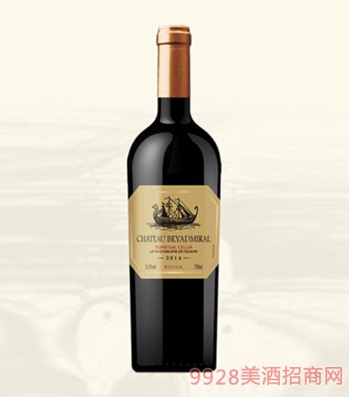 龙船上将·窖藏干红葡萄酒2014年重瓶