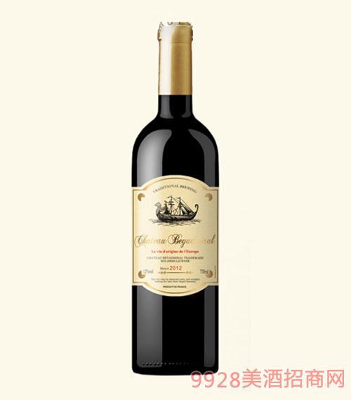 龙船上将·侯爵干红葡萄酒2015年普通瓶