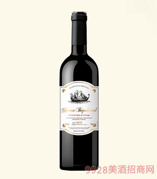 龙船上将·伯爵干红葡萄酒2015年重瓶