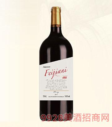 澳塞诗·菲嘉妮488西拉子干红葡萄酒