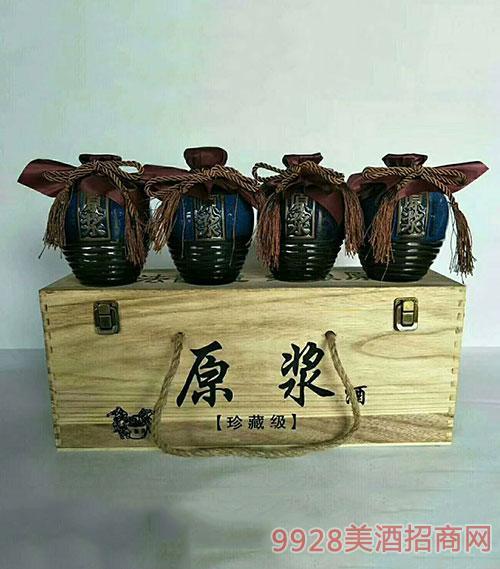原浆珍藏酒箱装