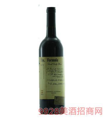 澳洲巴罗萨小山谷配方的西拉赤霞珠干红葡萄酒