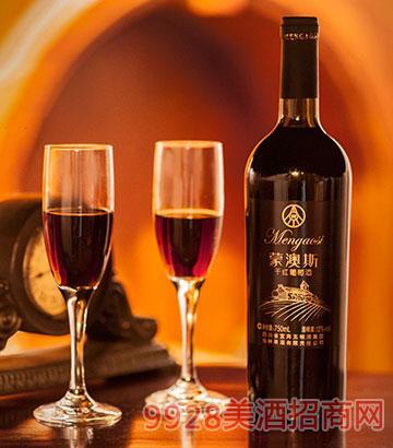 蒙澳斯干红葡萄酒13度750ml
