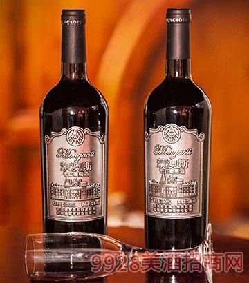 13度蒙澳斯干红葡萄酒750ml