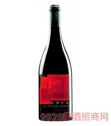 西班牙安妮雅西拉干红葡萄酒14.5度750ml
