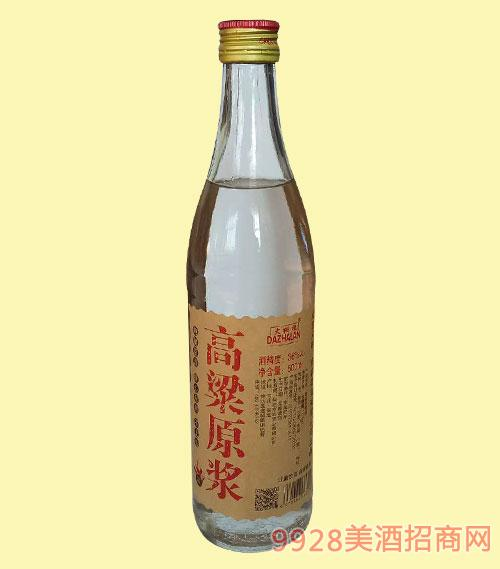 大栅栏高粱原浆酒36度500ml