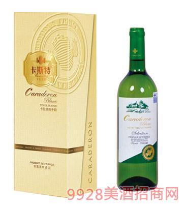 法国进口干白葡萄酒