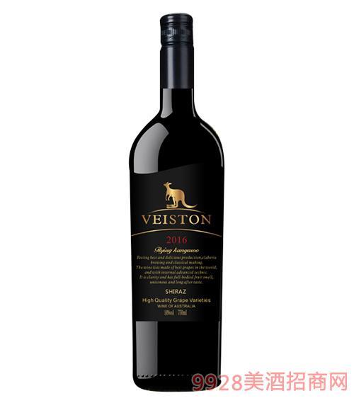 威斯顿飞鼠西拉干红葡萄酒