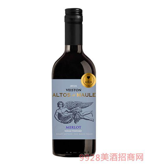 智利艾迪洛斯梅洛葡萄酒187ml