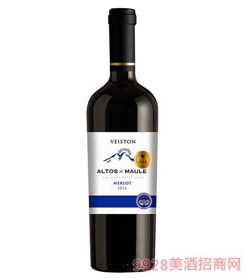 智利艾迪洛斯梅洛葡萄酒2016