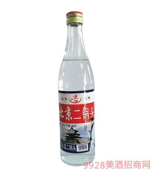 京乡酒北京二锅头56度500ml白瓶-