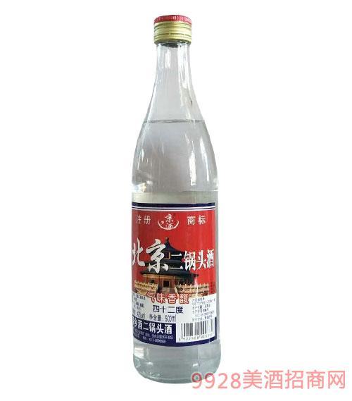 京乡酒北京二锅头42度500ml
