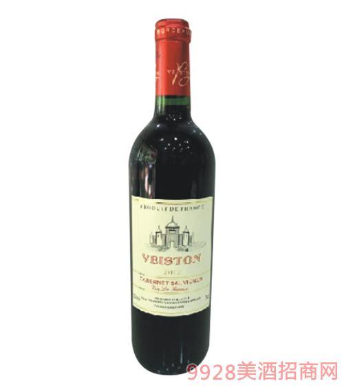 威斯顿干红葡萄酒2012