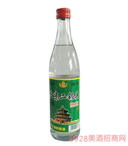 京乡酒北京二锅头陈酿酒42度500ml