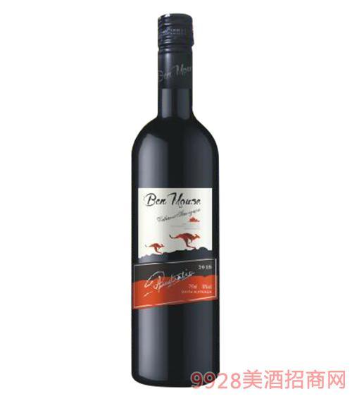 奔鼠赤霞珠干红葡萄酒14度750ml