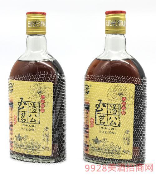 三年陈汤公玉茗特酿酒500ml