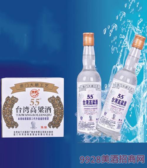 台湾高粱酒(陈酿)55度450ml1x12