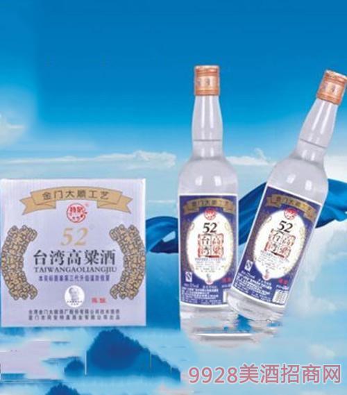 台湾高粱酒(陈酿)52度600ml1x12