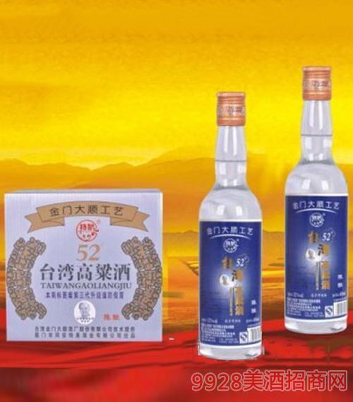 台湾高粱酒(陈酿)52度450ml1x12