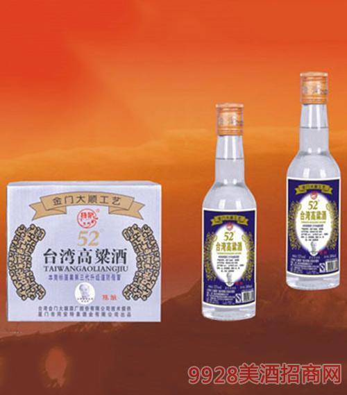 台湾高粱酒(陈酿)52度300ml1x12